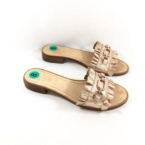 New Kate Spade Brie Beau leather sandals 8